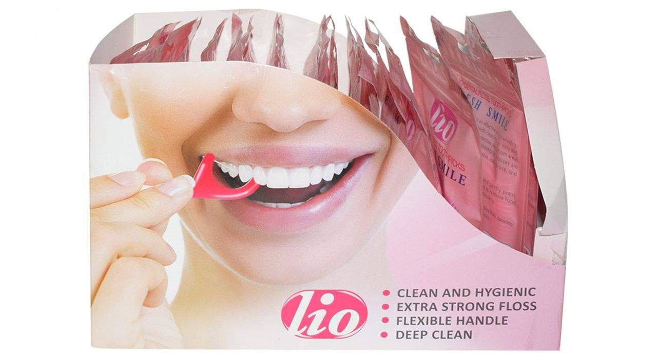 پک نخ دندان و خلال دندان Lio لیو 20 عددی