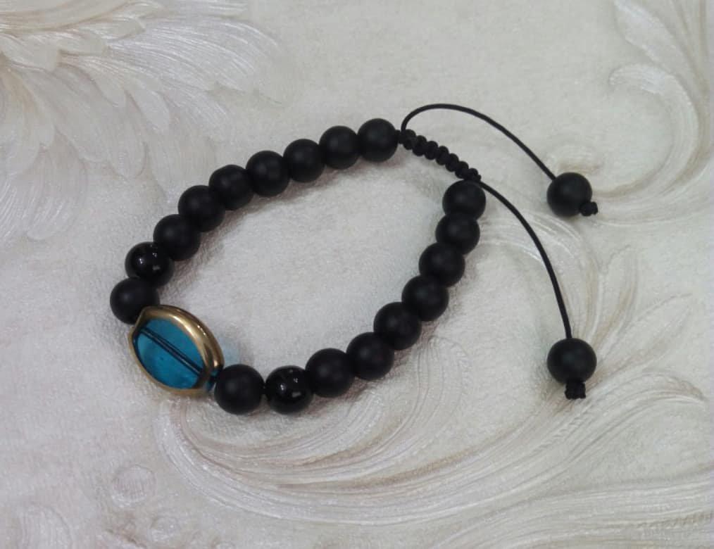 دستبند سنگ اونیکس