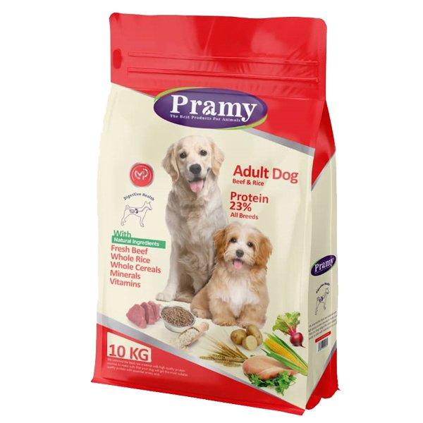 غذای خشک سگ پرامی مدل Adult Dog حجم 10 کیلوگرم