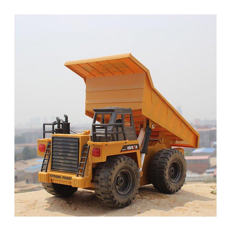کامیون کمپرسی دامپ تراک کنترلی 6کانال برند Huina