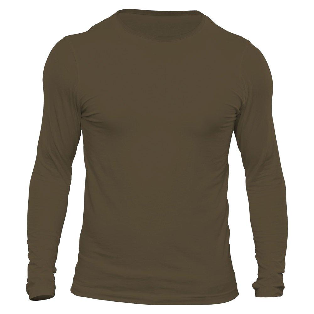 تیشرت آستین بلند مردانه کد 3BOL رنگ زیتونی