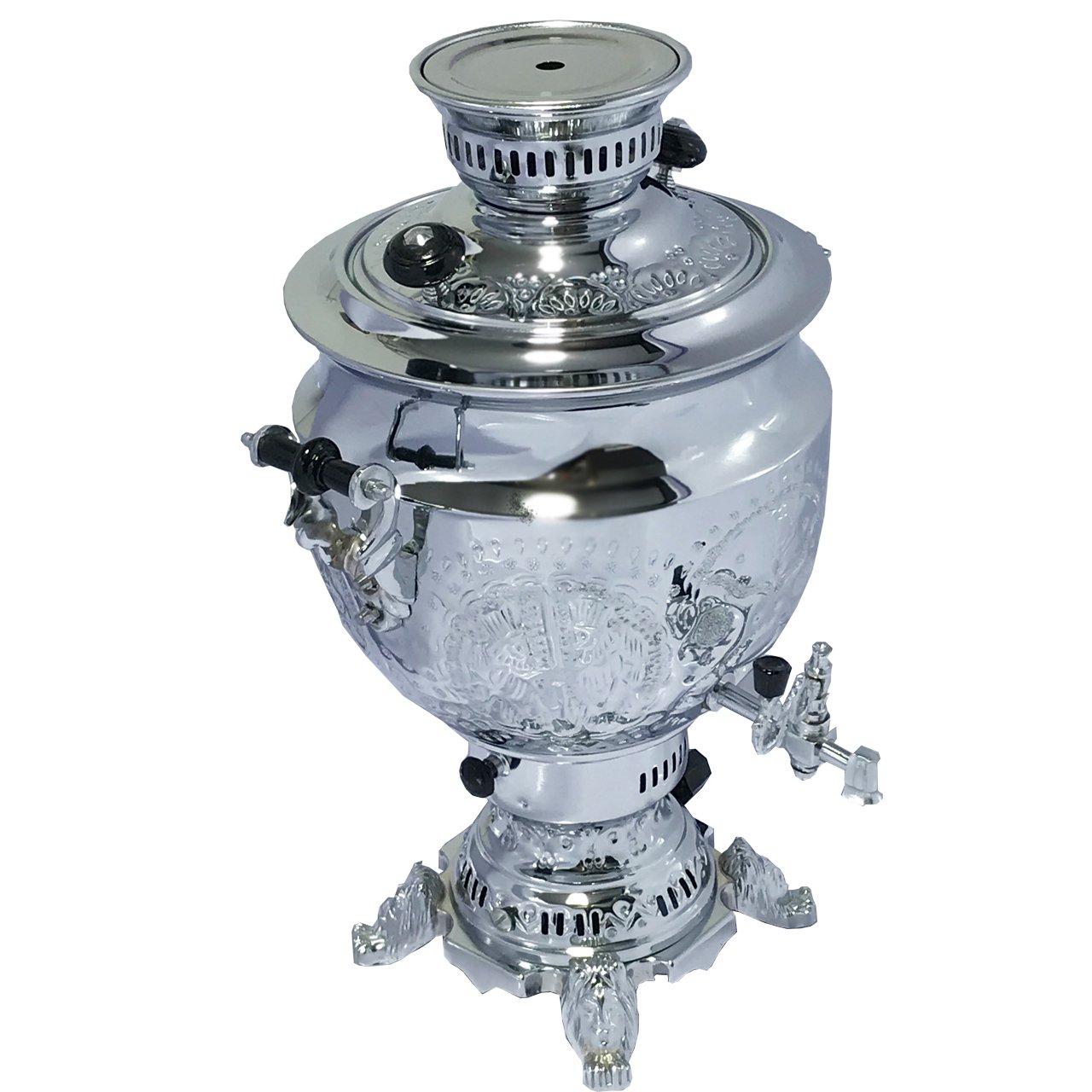 سماور گاز سوز صدف مدل قلمکاری