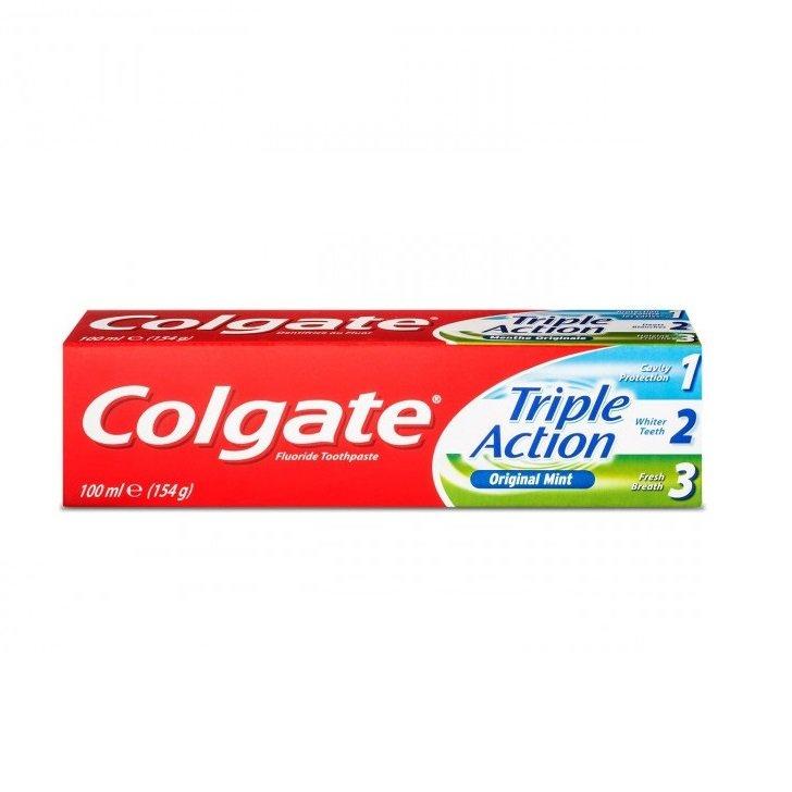خمیر دندان Triple Action کلگیت ۱۰۰ میلی لیتر