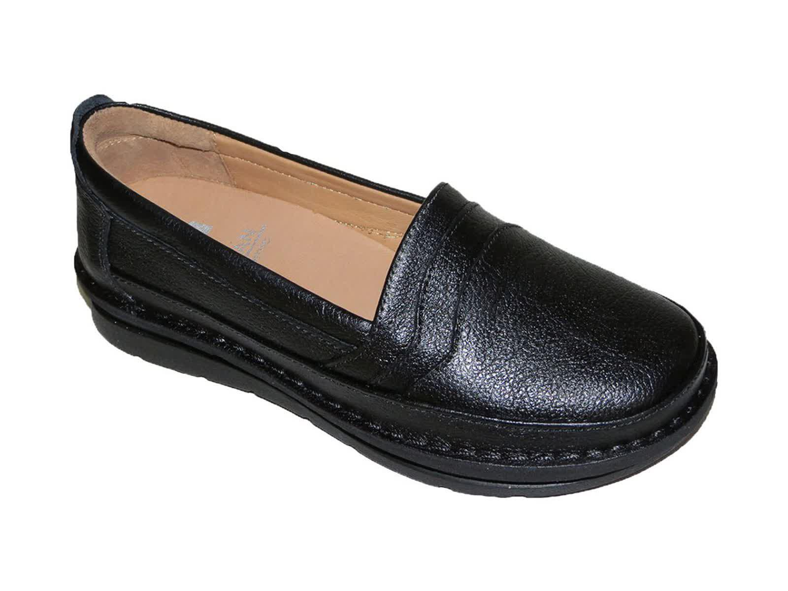 کفش کلارک زنانه مدل آنیل مشکی
