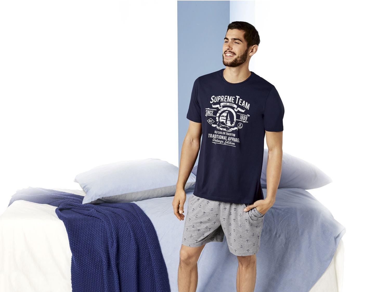 ست تی شرت و شلوارک مردانه لیورجی مدل تیم برتر