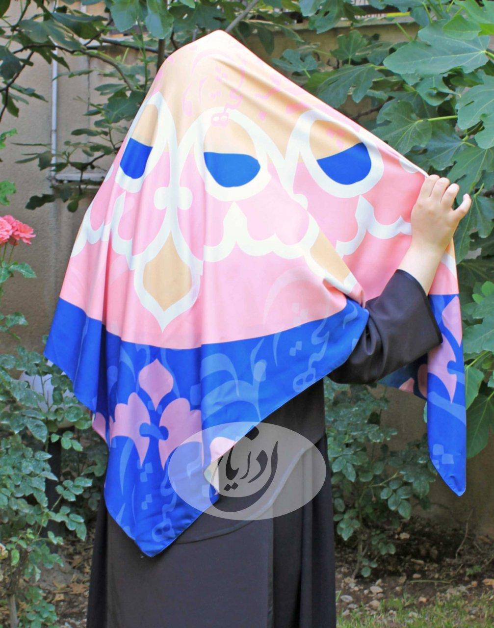 روسری طرح شعر سعدی- هیچ