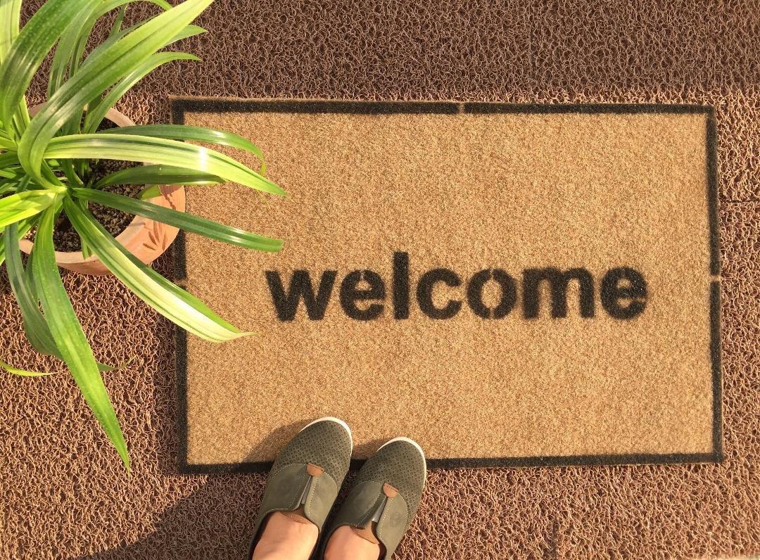 پادری طرح welcome