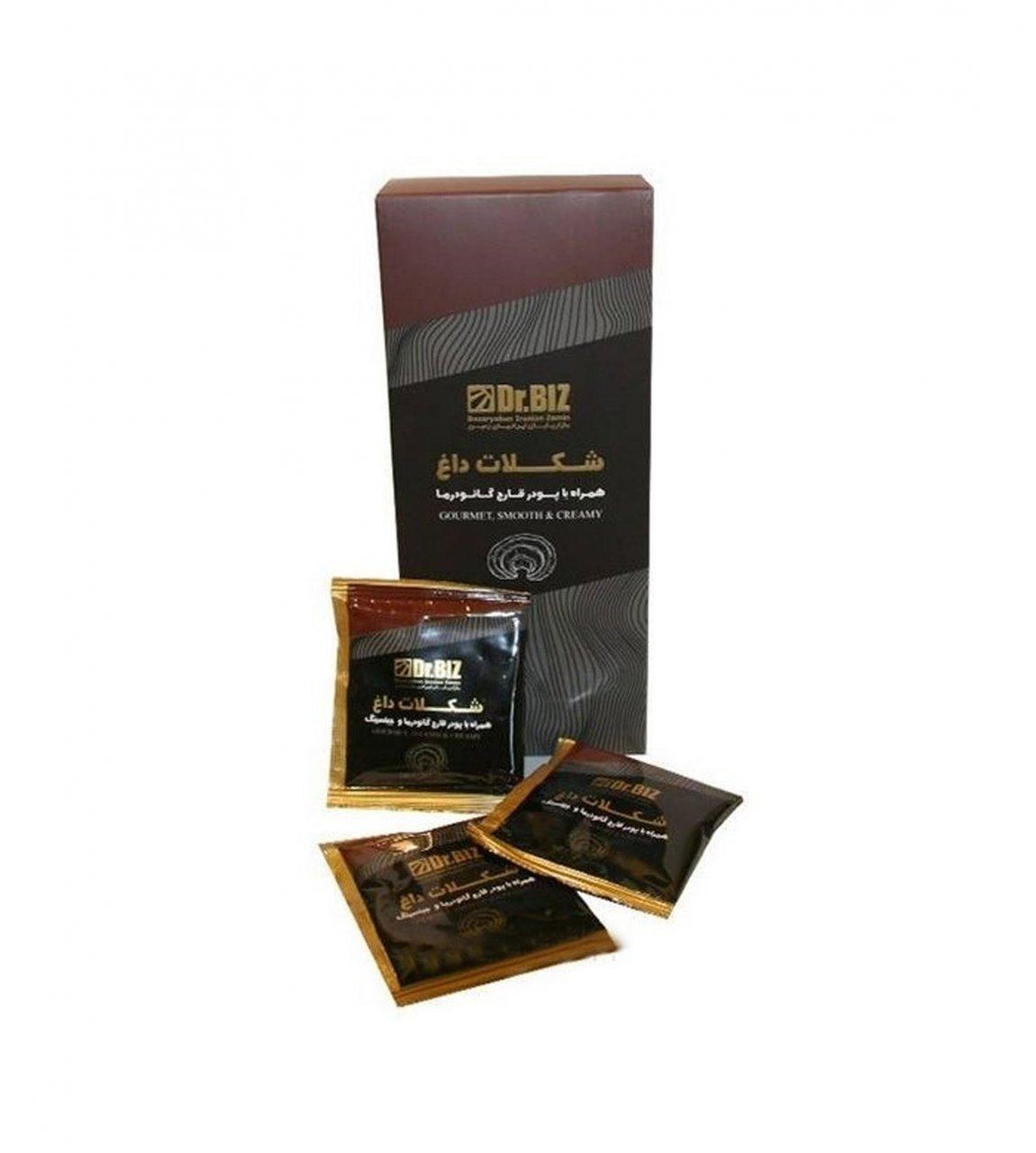 هات چاکلت گانودرما شکلات داغ دکتربیز 20 عددی ارسال رایگان