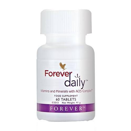 مکمل غذایی فوراور دیلی Forever Daily محتوی 60 قرص