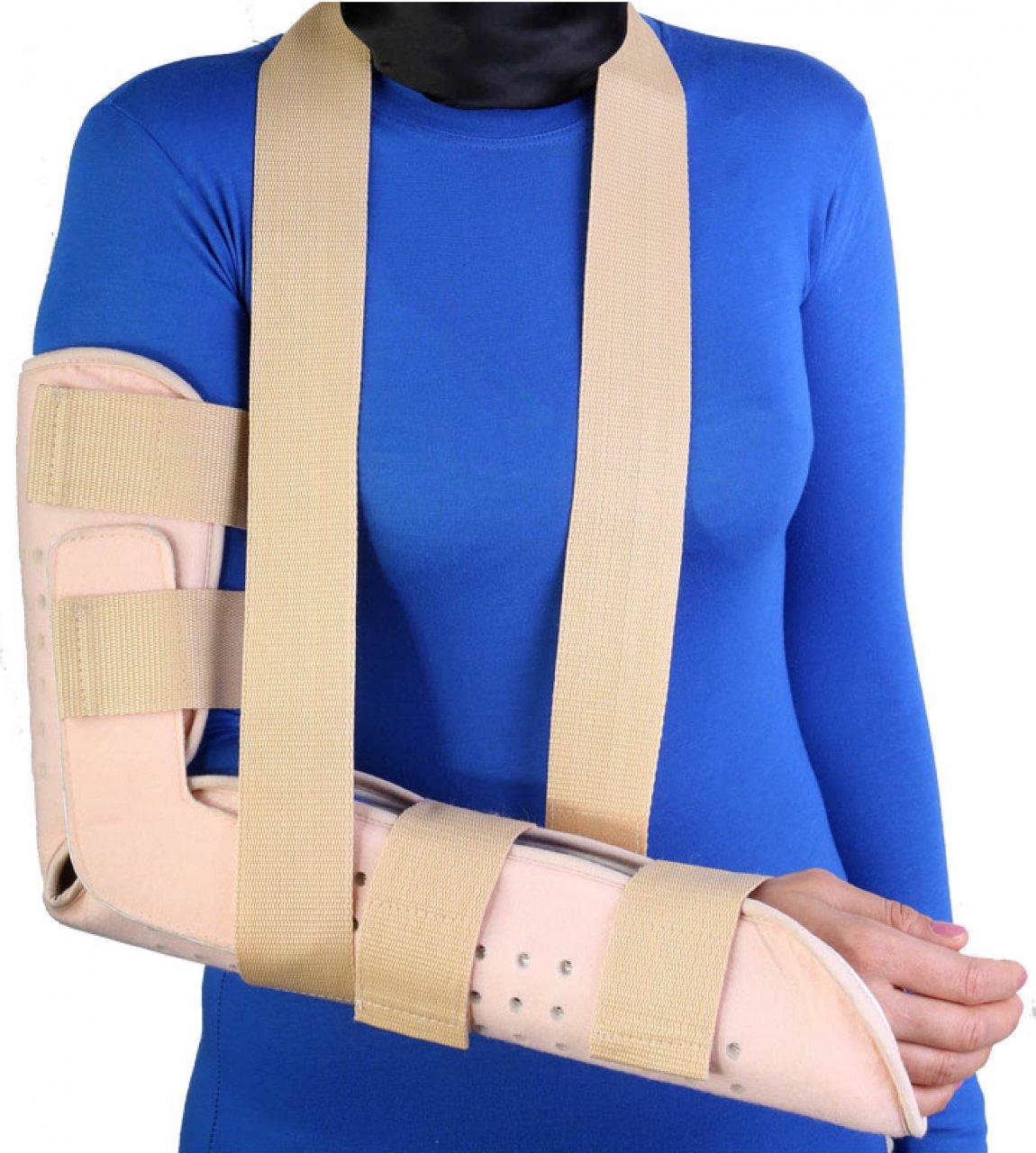 آتل اورژانسی ساعد و بازو طب و صنعت تک سایز