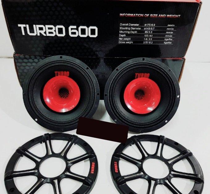 اسپیکر خودرو فول رنج ۶/۵ اینچ turbo