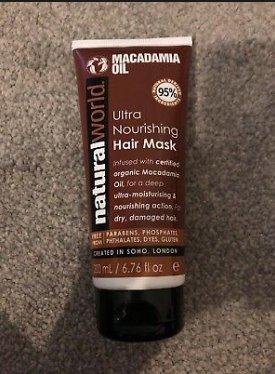 ماسک مو ماکادمیا داخل حمام NATURAL WORLD