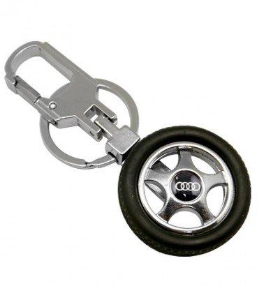 جاکلیدی فلزی مدل چرخ ماشین