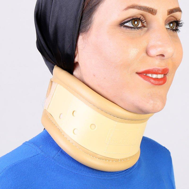 گردنبند طبی سخت طب و صنعت رنگ کرم