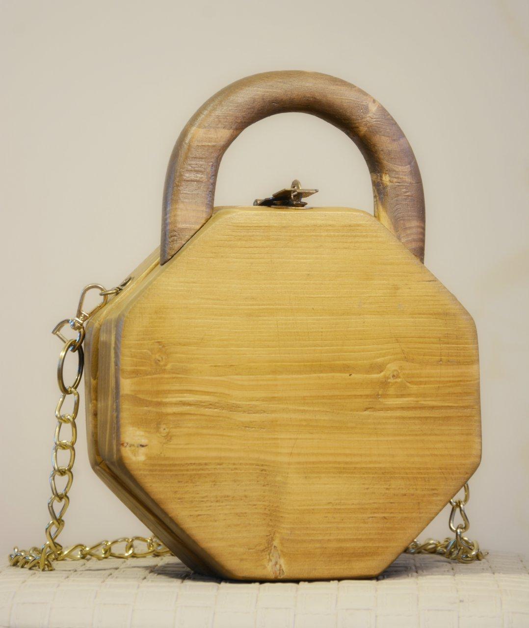 کیف تمام چوب مدل بهار