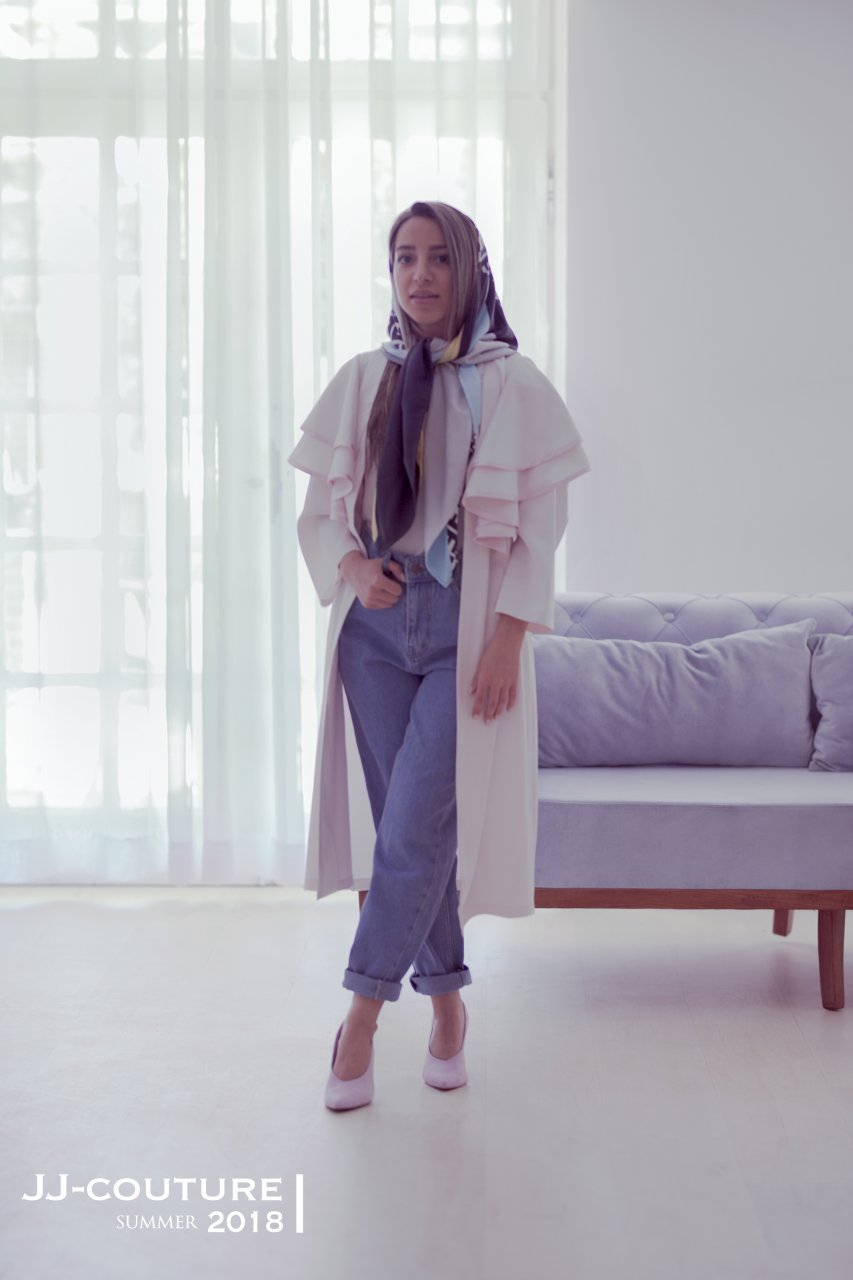مانتو فری سایز برند jj_couture