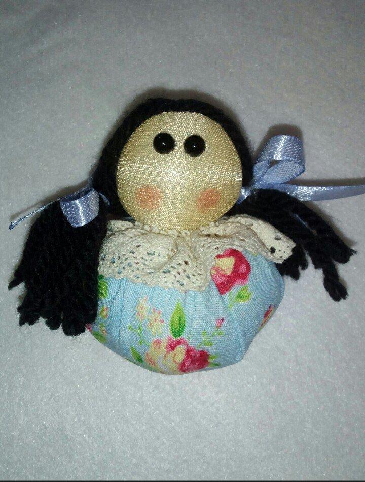 عروسک بقچه ای پارچه ای