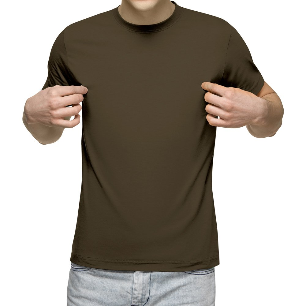 تیشرت آستین کوتاه مردانه کد 1BOL رنگ زیتونی