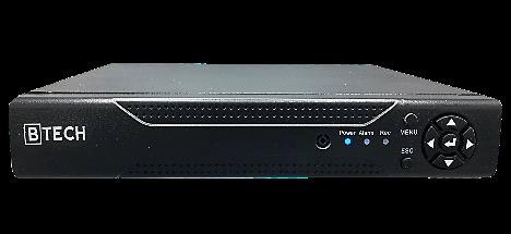 دستگاه ضبط كننده تحت شبكه 8 كانال Btech مدل XV-6108