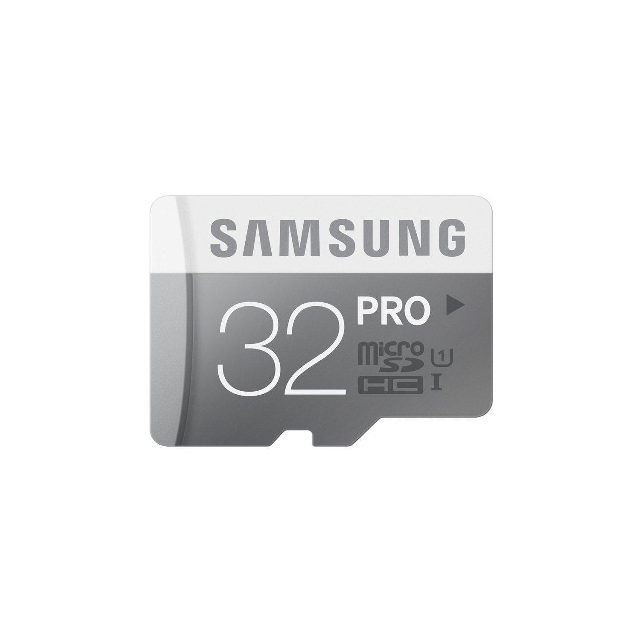 کارت حافظه microSDXC سامسونگ مدل PRO Professional Performance کلاس 10 استاندارد UHS-I U1 سرعت 90MBps ظرفیت 32 گیگابایت