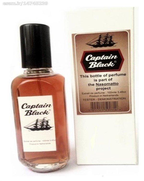 تسترعطر مردانه کاپتان بلک 100میل CAPTAIN BLACK