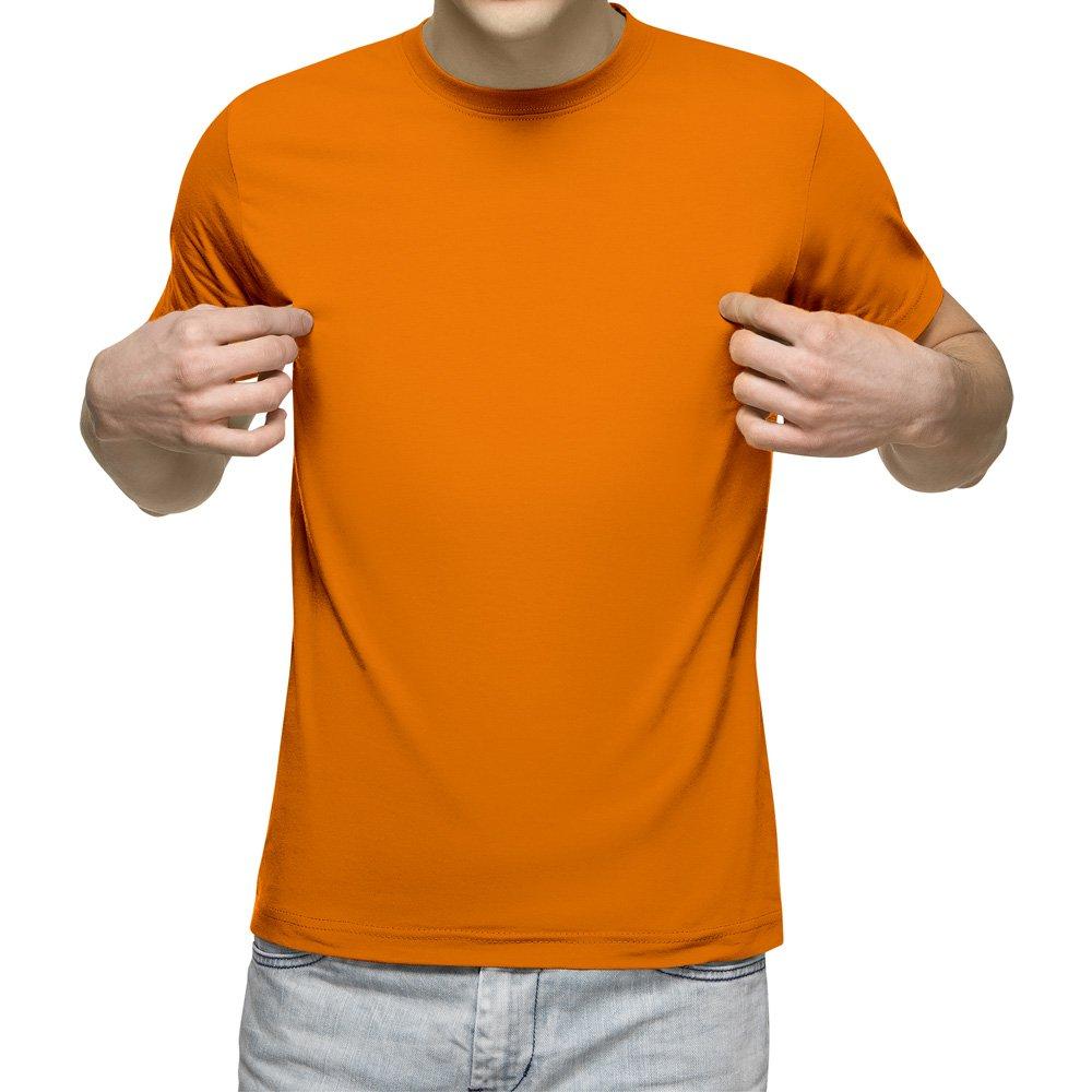 تیشرت آستین کوتاه مردانه کد 1TOR رنگ نارنجی