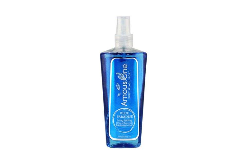 بادی اسپلش آموس وان blue paradise 250ml
