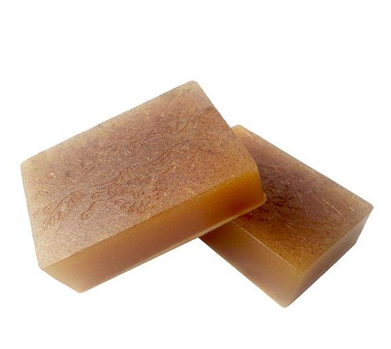 صابون زردچوبه و شیر الاغ حجم 100 گرم