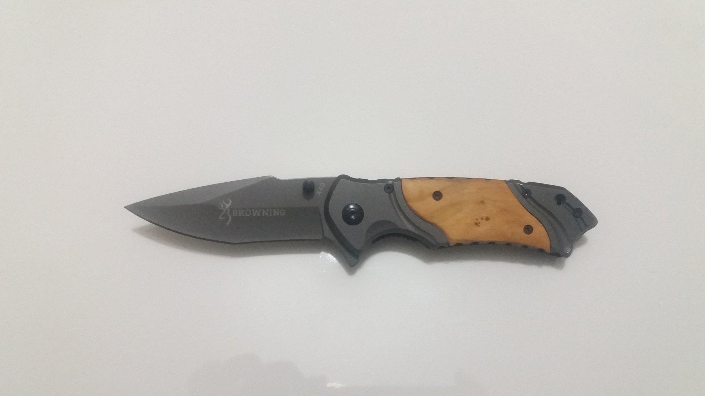 چاقوی سفری مدل شکاری برونینگ