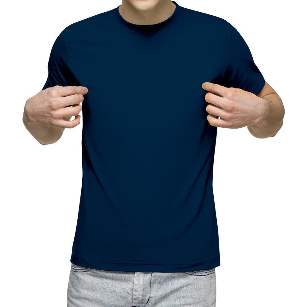 تیشرت آستین کوتاه مردانه سرمه ای