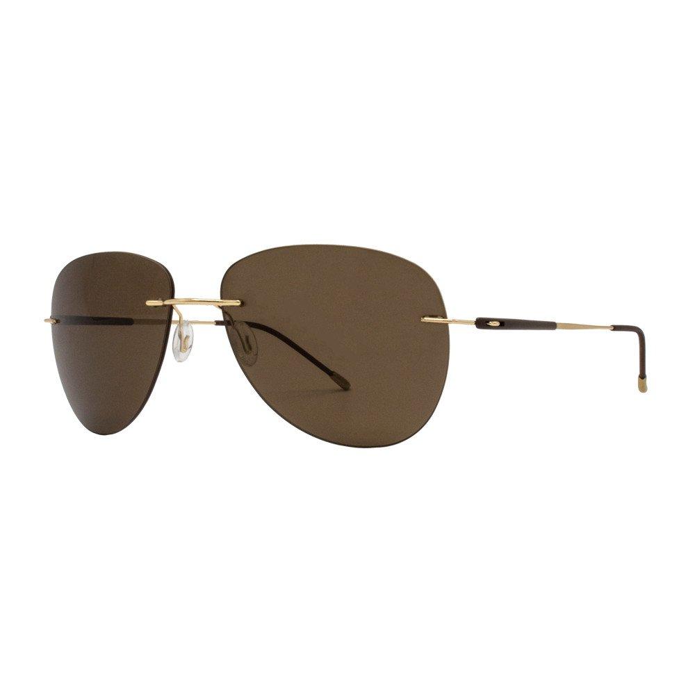 عینک آفتابی بیانکو نرو مدل BN1064 رنگ طلائی