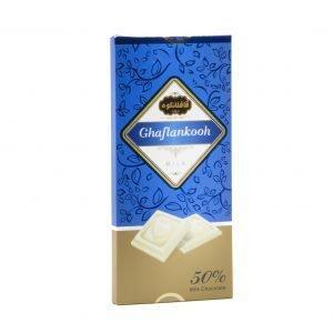 شکلات تابلت 50% قافلانکوه 80 گرم
