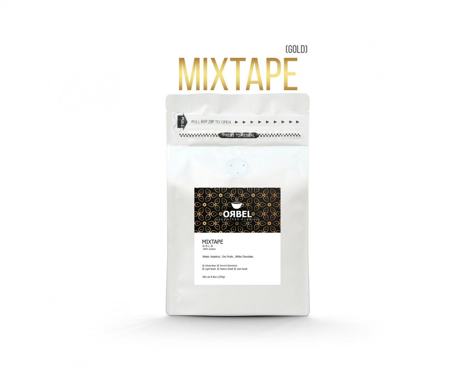 دانه قهوه اربل مدل میکس تیپ گلد ۲۵۰ گرم