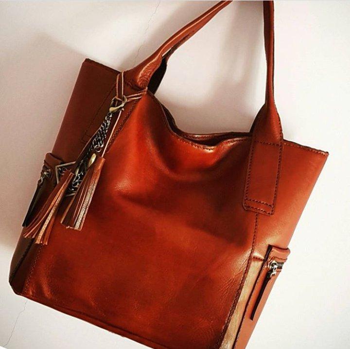 کیف زنانه چرمی دست دوز