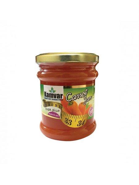مربای هویج رژیمی کامور 280 گرم