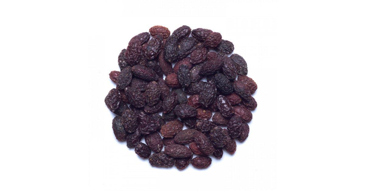 میوه خشک زغال اخته بی هسته 250 گرم وجیسنک
