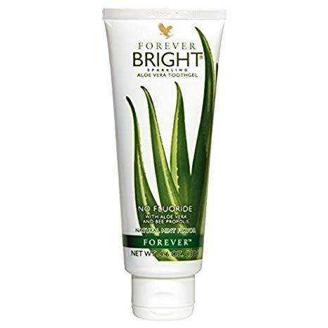 خمیردندان آلوئه ورا و عسل فوراور سفیدکننده بدون فلوراید Forever Bright Toothgel