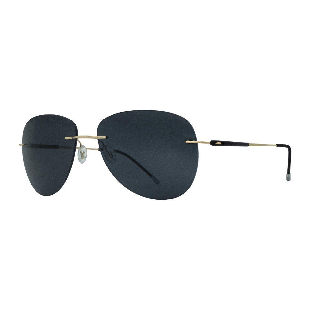 عینک آفتابی بیانکو نرو مدل BN1064 رنگ طلائی - دودی