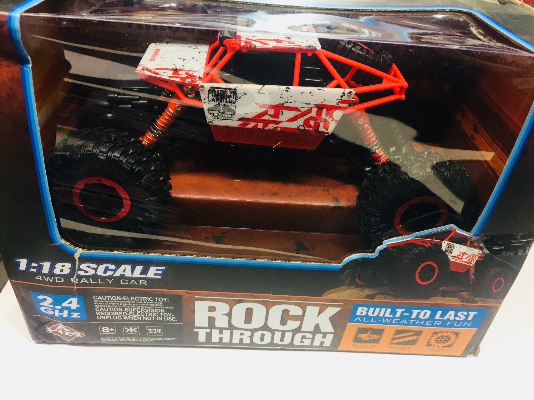 ماشین بازی کنترولی Rock