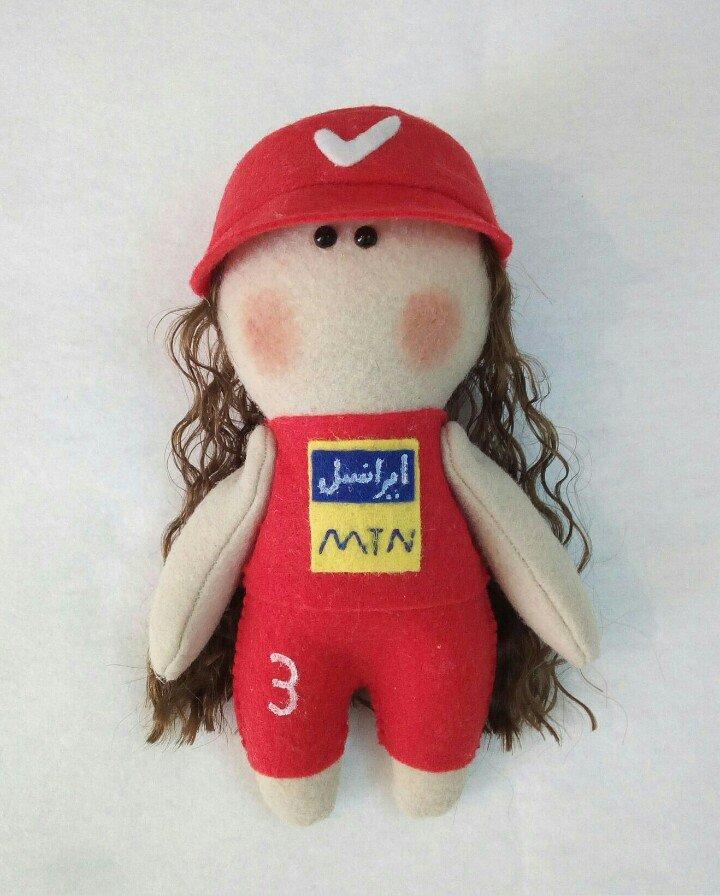 عروسک روسی دختر پرسپولیسی