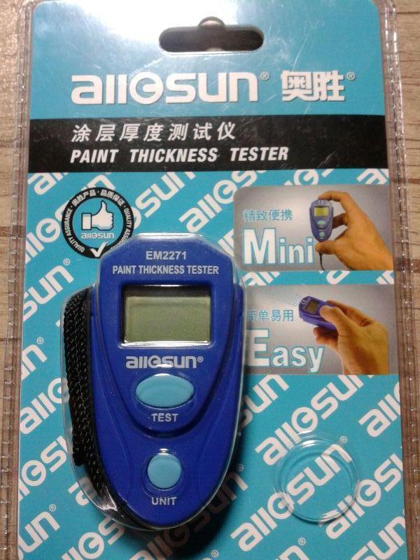 تستر دیجیتال رنگ و پوشش مدل allosun
