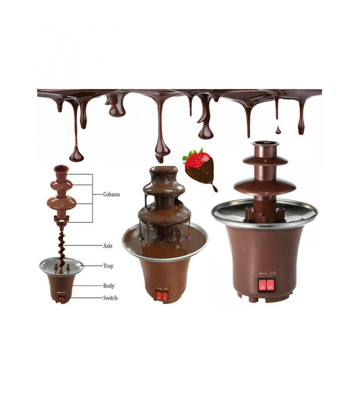 دستگاه آب کننده شکلات مدل چشمه شکلات BD-107