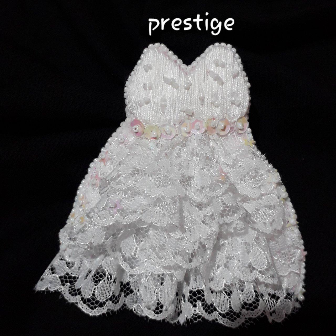 سنجاق سینه جواهر دوزی طرح لباس عروس