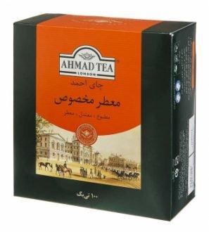 چای کیسه ای احمد عطری 100 عددی