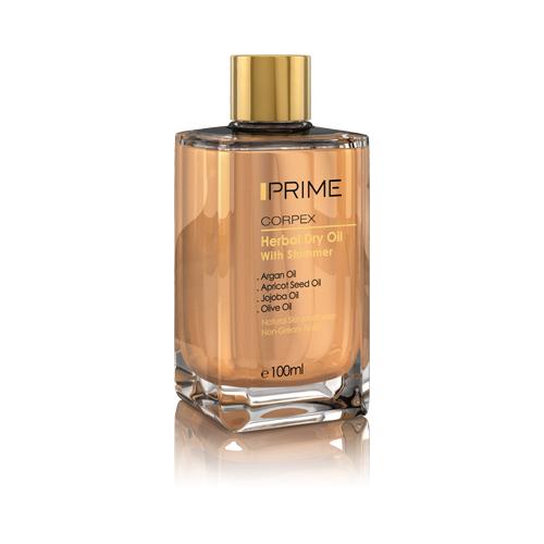 روغن پوست و مو پریم سری Corpex مدل Herbal Dry Oil حجم ۱۰۰ میلی لیتر