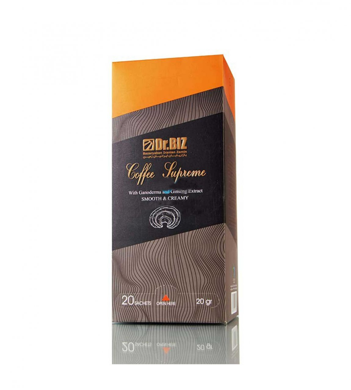 قهوه گانودرما سوپریم دکتر بیز 20 عددی ارسال رایگان