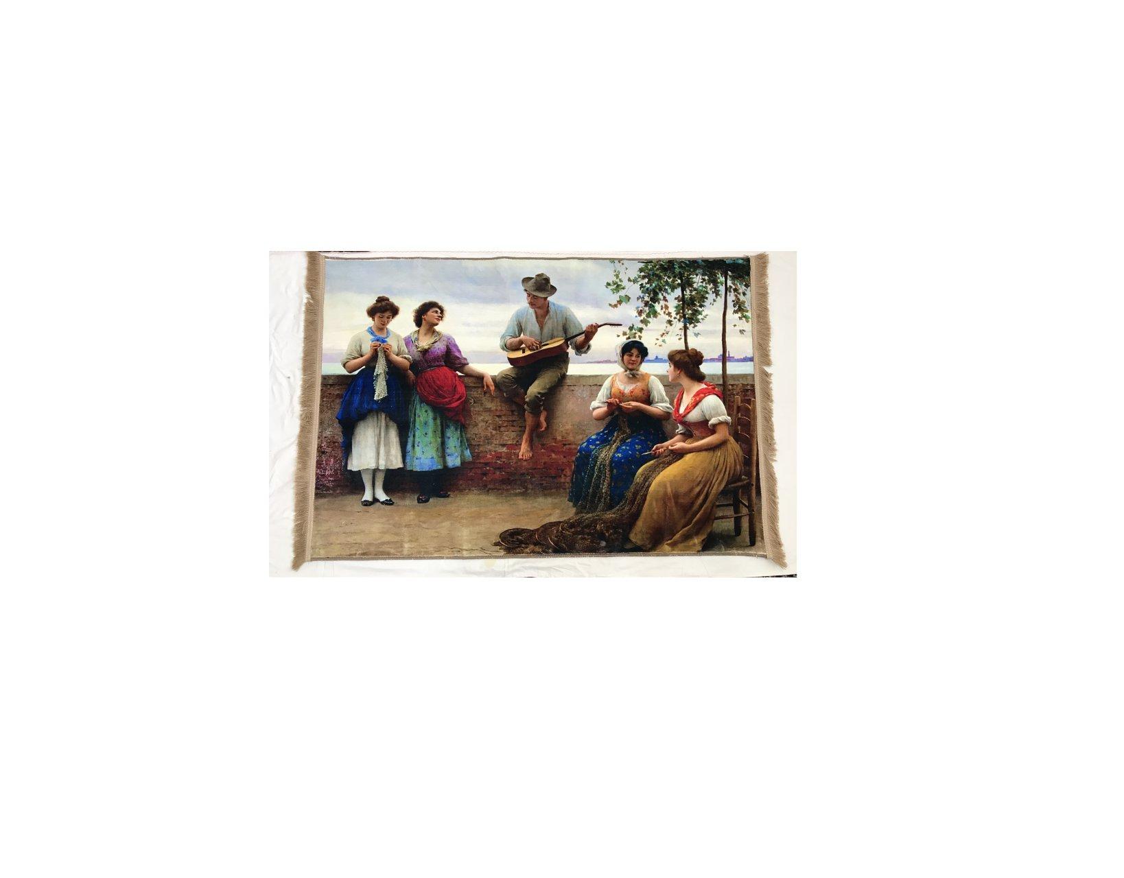 تابلو فرش چاپی مدل A017