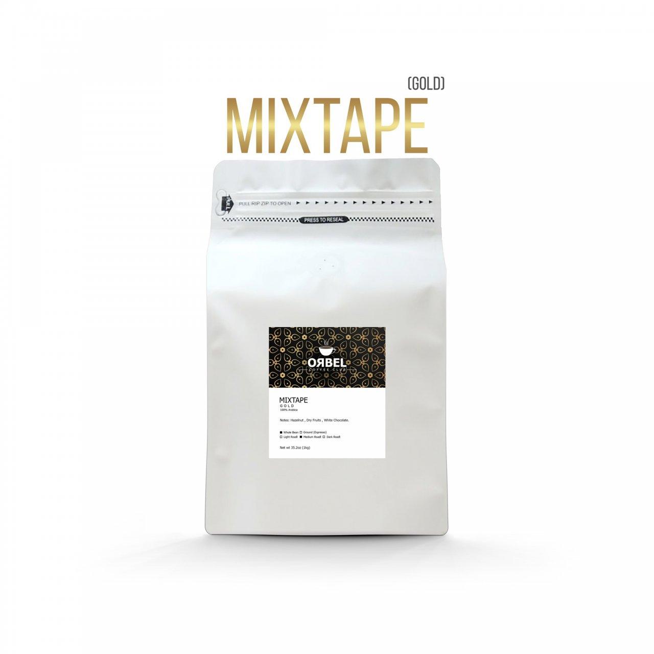 دانه قهوه اربل مدل میکس تیپ گلد 1 کیلوگرم