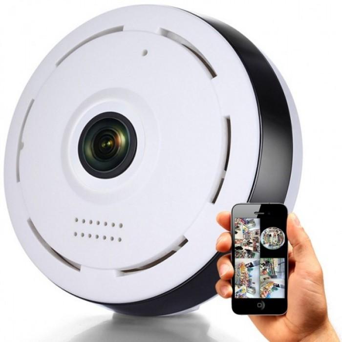 دوربین مداربسته تحت شبکه fisheye مدل v380
