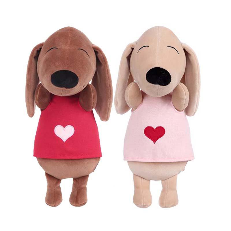عروسک مینیسو طرح سگ دوقلو